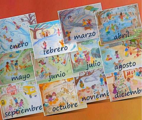 classroom-posters-los-meses